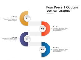 Four Present Options Vertical Graphic
