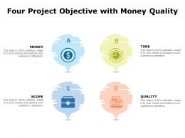 Four Project Objective With Money Quality