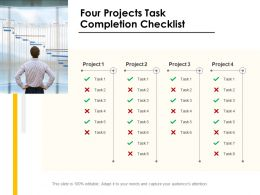 Four Projects Task Completion Checklist