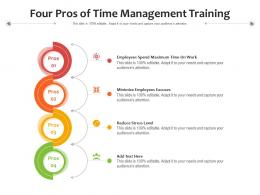 Four Pros Of Time Management Training
