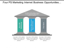 four_ps_marketing_internet_business_opportunities_performance_appraisals_phrases_cpb_Slide01