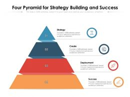 Four Pyramid For Strategy Building And Success