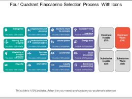 Four Quadrant Fiaccabrino Selection Process With Icons