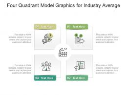 Four Quadrant Model Graphics For Industry Average Infographic Template