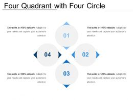 Four Quadrant With Four Circle
