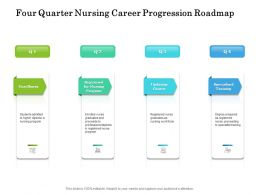 Four Quarter Nursing Career Progression Roadmap