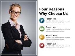 Four Reasons Why Choose Us Example Of Ppt