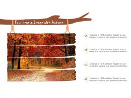 Four Season Image With Autumn