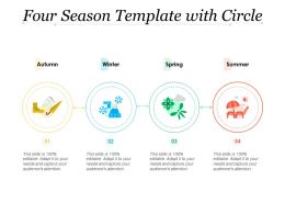 Four Season Template With Circle