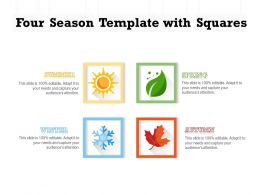 Four Season Template With Squares