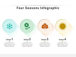 Four Seasons Infographic Template