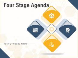 Four Stage Agenda Business Development Leadership Analysis Marketing Strategy Optimization