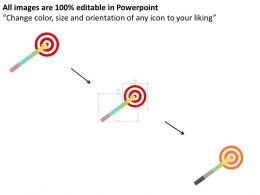 four_staged_arrow_for_target_selection_flat_powerpoint_design_Slide02