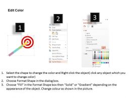 four_staged_arrow_for_target_selection_flat_powerpoint_design_Slide04