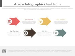 four_staged_arrow_infographics_and_icons_flat_powerpoint_design_Slide01