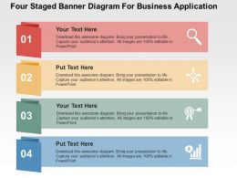 543856 Style Layered Vertical 4 Piece Powerpoint Presentation Diagram Infographic Slide