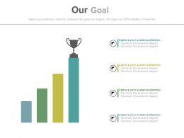 four_staged_bar_graph_and_trophy_powerpoint_slides_Slide01