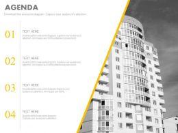 four_staged_business_agenda_diagram_powerpoint_slide_Slide01