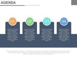 2662981 Style Essentials 1 Agenda 4 Piece Powerpoint Presentation Diagram Infographic Slide