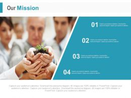 Four Staged Business Mission Analysis Powerpoint Slides