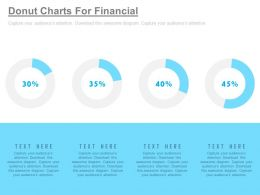 four_staged_donut_charts_for_financial_analysis_powerpoint_slides_Slide01