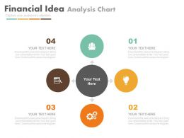 four_staged_financial_idea_analysis_chart_flat_powerpoint_design_Slide01