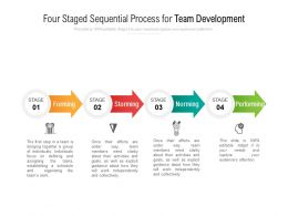 Four Staged Sequential Process For Team Development
