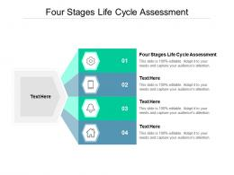 Four Stages Life Cycle Assessment Ppt Powerpoint Presentation Pictures Slideshow Cpb