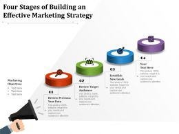 Four Stages Of Building An Effective Marketing Strategy