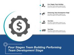 Four Stages Team Building Performing Team Development Stage Cpb