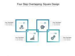 Four Step Overlapping Square Design