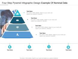 Four Step Pyramid Design Example Of Nominal Data Infographic Template