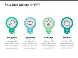 Four Step Sample Of Ppt