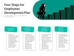 Four Steps For Employees Development Plan