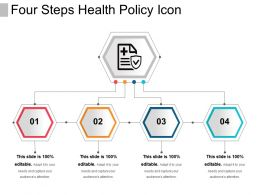 Four Steps Health Policy Icon