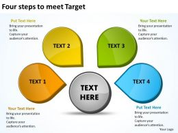 Four Steps To Meet Target 16