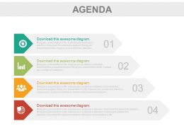 four_tags_for_business_agenda_representation_powerpoint_slides_Slide01
