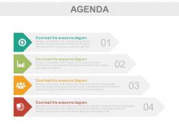 four_tags_for_business_agenda_representation_powerpoint_slides_Slide01