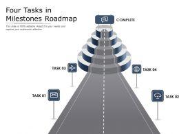 Four Tasks In Milestones Roadmap