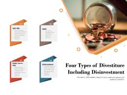 Four Types Of Divestiture Including Disinvestment