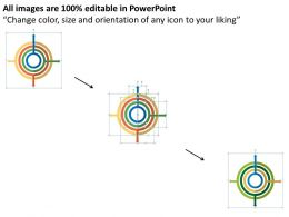 18011950 Style Cluster Concentric 4 Piece Powerpoint Presentation Diagram Infographic Slide