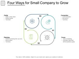 Four Ways For Small Company To Grow