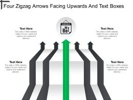 four_zigzag_arrows_facing_upwards_and_text_boxes_Slide01