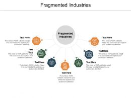 Fragmented Industries Ppt Powerpoint Presentation Infographic Template Skills Cpb