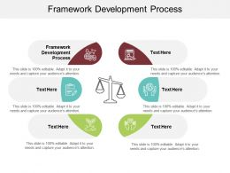Framework Development Process Ppt Powerpoint Presentation Infographics Deck Cpb