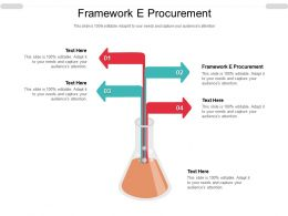 Framework E Procurement Ppt Powerpoint Presentation Layouts File Formats Cpb