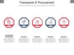 Framework E Procurement Ppt Powerpoint Presentation Styles Elements Cpb