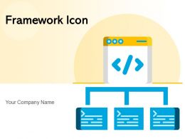 Framework Icon Business Process Automation Representing Prioritization