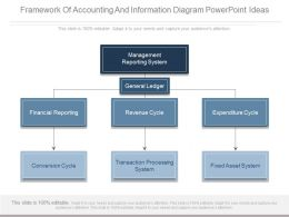 Framework Of Accounting And Information Diagram Powerpoint Ideas
