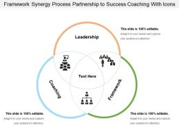 Framework Synergy Process Partnership To Success Coaching With Icons